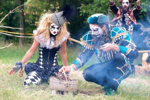 Lost & Found crew at Wilderness 2011